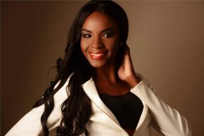 Namibian model and actress lands in London on trail of Miss Global title