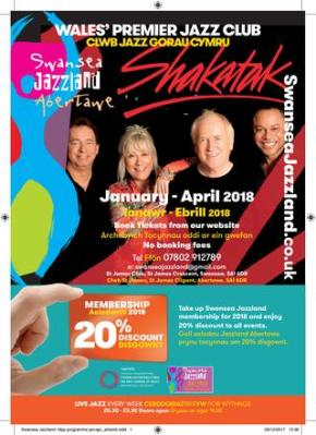Shakatak and Hamish Stuart among Swansea jazz highlights