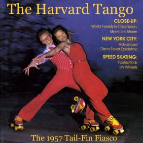 Doing The Harvard Tango with Mal and David (and Dirk, Evie, andBess)
