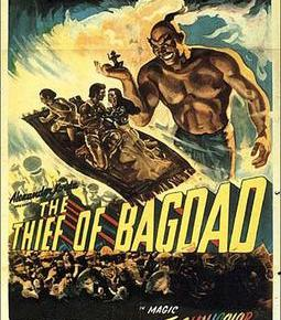 The Thief of Bagdad: a childhood spectacle of colour on a rainyday